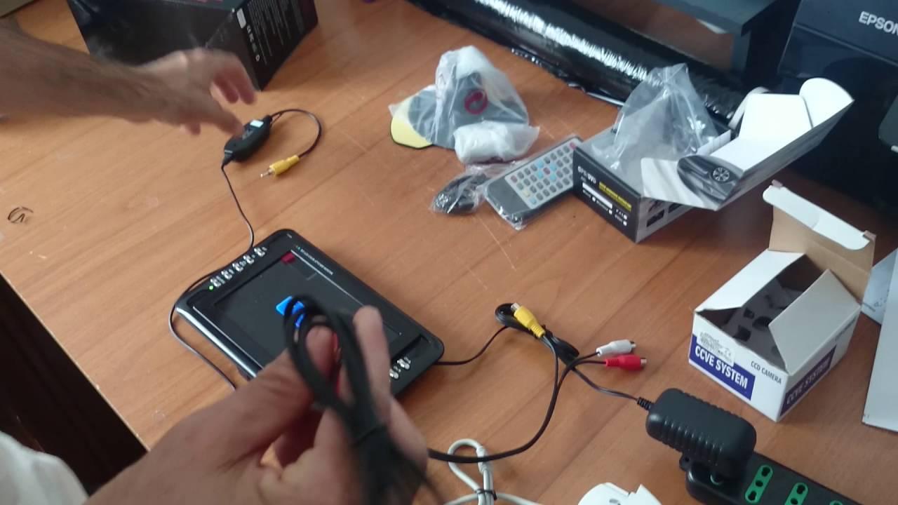 Kit retromarcia senza fili per camper e trailer monitor for Telecamera amazon