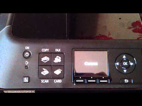 Canon Pixma MX420 - printer error 5011