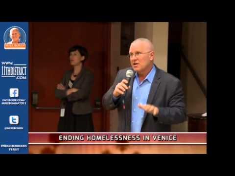 Mike Bonin - Ending Homelessness in Venice
