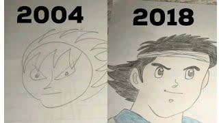 My drawings for Captain Tsubasa / Majid ( Evolution ) ( 2004 - 2018 )