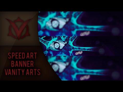"Speed Art ""Vanity Arts"" Banner By: Organic"