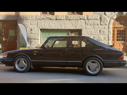 Saab 900 Turbo Aero (?) In Top Shape In Sweden [4k 60p]