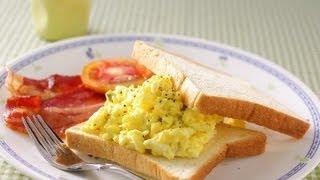 【楊桃美食網】美式炒蛋活力早餐組合
