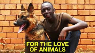 FOR THE LOVE OF ANIMALS