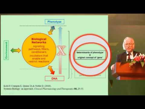 Physiology And The Revolution In Evolutionary Biology, Professor Denis Noble