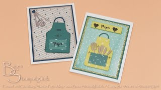Tutorial: Poppige Karte zum Vatertag - Stampin' Up!