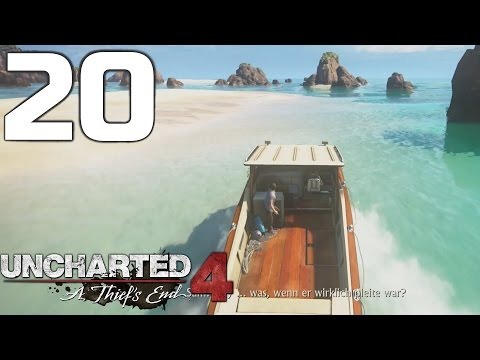 Traumstrände & Kristallwasser! - Uncharted 4 (Schwer) #20! [Deutsch/HD] - A Thief's End!