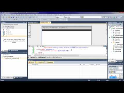 GridView - Part 1: Getting Started (Silverlight & WPF)