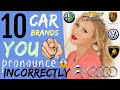 Download 10 car brand names YOU pronounce WRONG! | How to Pronounce Car Brands