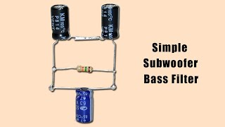 subwoofer bass boost circuit - Clip Ready