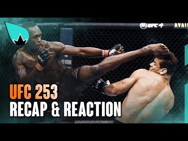 UFC 253 ISRAEL ADESANYA VS. PAULO COSTA | RECAP & REACTION