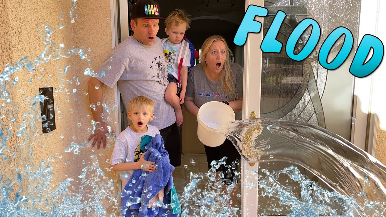 FLOOD EVACUATION!