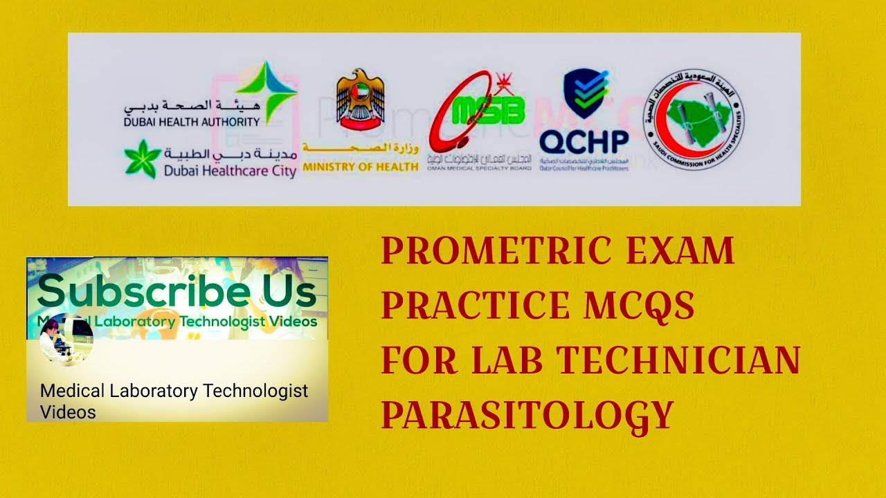Parasitology Multiple Choice questions (Mcqs) Prometric Practice exam