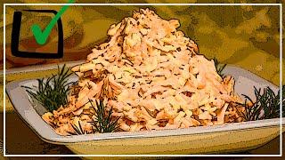 Нежный салат из моркови с чесноком, сыром и майонезом. Очень вкусная намазка на хлеб!