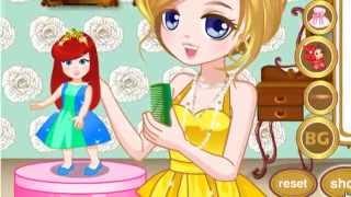Наряжать куклу - игра для девочек