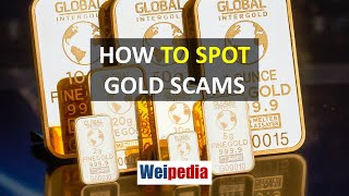 How to spot gold scams