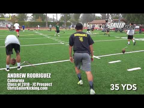 Andrew Rodriguez -Kicker/Punter