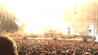 Rammstein - Intro + Ramm4 - Live Tinderbox Odense 23-6, 2016