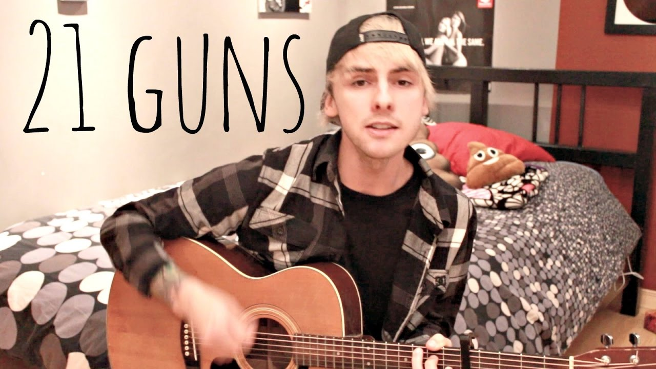 Green Day 21 Guns Acoustic Cover By Janick Thibault Chords