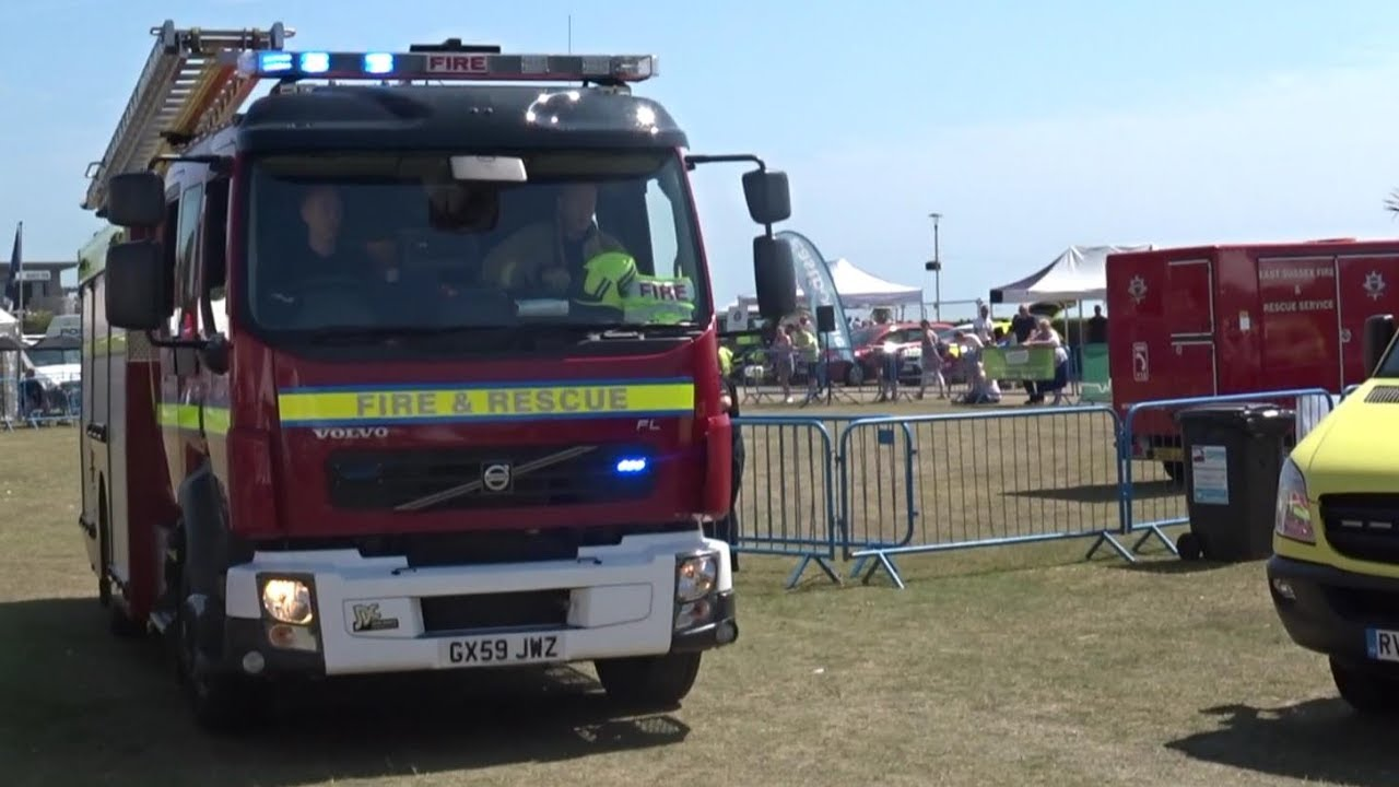 Eastbourne 999 Weekend 2017 East Sussex Fire & Rescue Service Responding