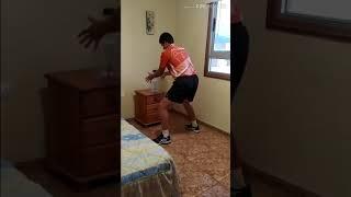 Как улучшить работу ног при топспине в домашних условиях