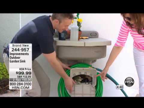 Improvements Outdoor Garden Sink YouTube