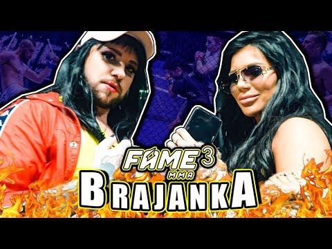 Brajanka na FAME MMA3