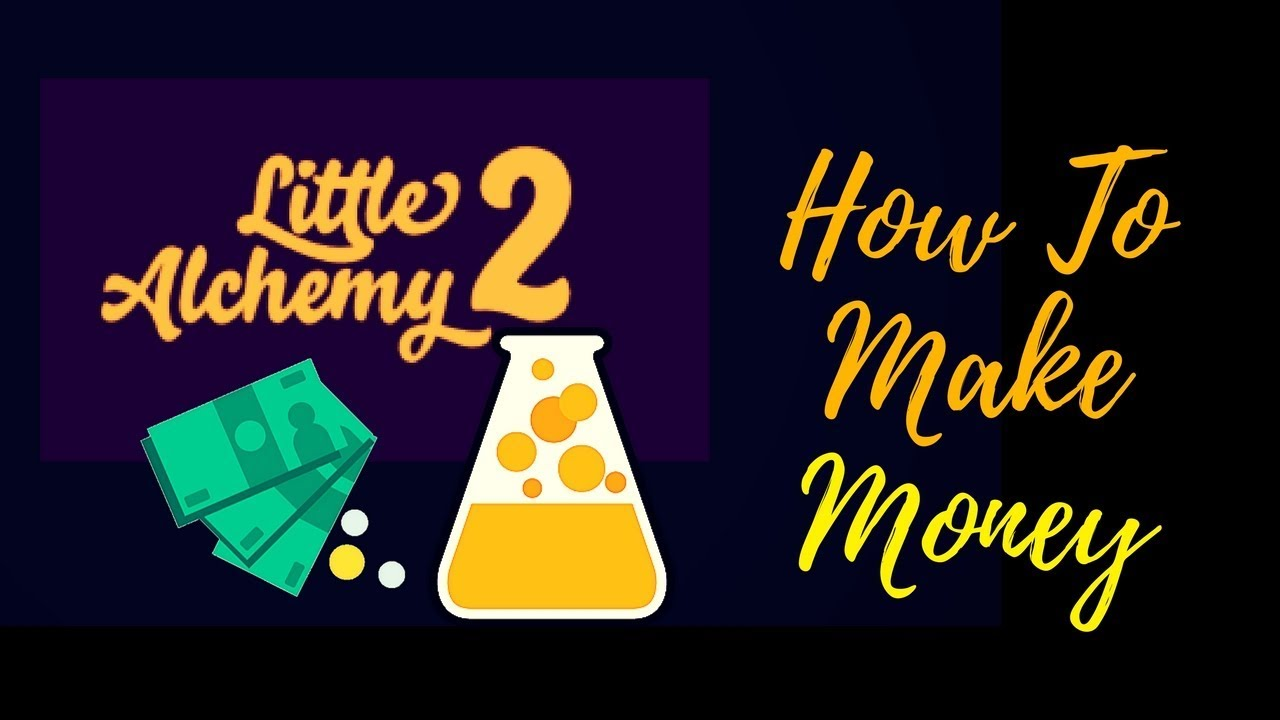 what can you make with money in little alchemy