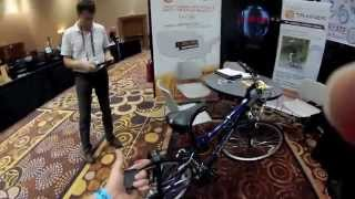 Interbike 2014: EZ Trainer Adult Sized Bicycle Training Wheels