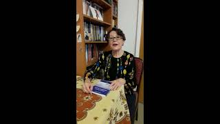 Actrita Ana Serghie Ionescu despre cartea REMEDIU HOMEOPAT - PAHARUL CU APA