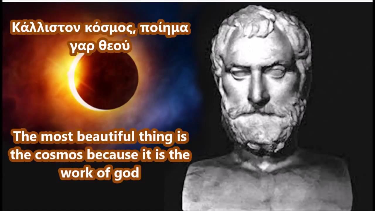Ancient Greek Philosophers quotes - Thales of Miletus ...