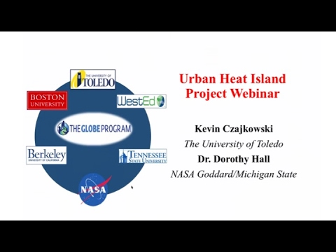 Urban Hear Island Effect Project Webinar