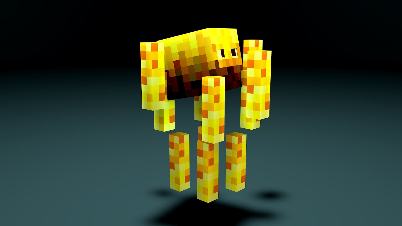 Minecraft How To Craft Blaze Rod