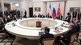 Presidents of Russia, Iran, Turkey discuss Syria conflict solution