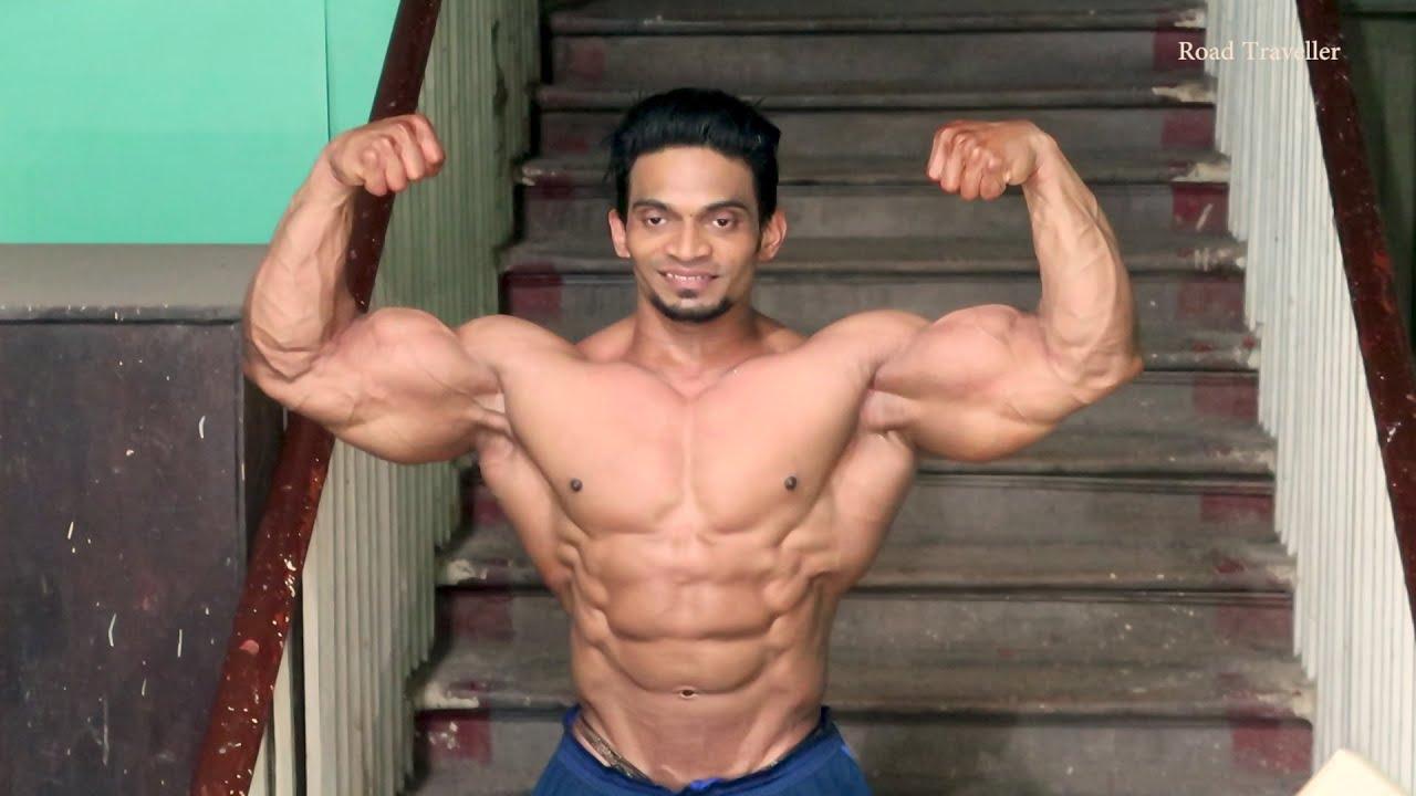 Sunit Jadhav Best Posing Bodybuilding Competition