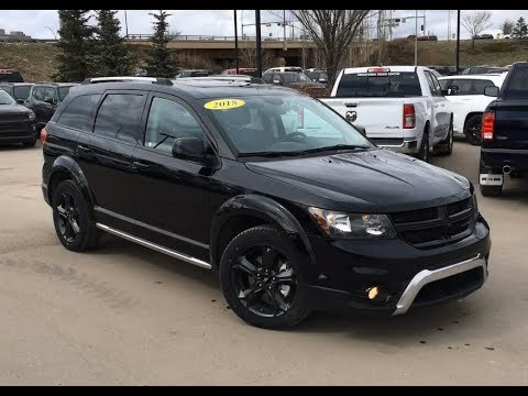 2018 Dodge Journey Crossroad AWD | Entertainment Screen | Edmonton AB | AE11657 | Crosstown DCJR