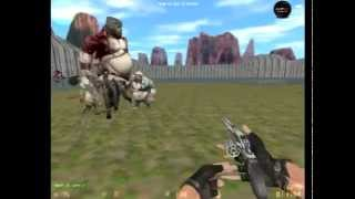 Counter strike Xtreme v6 Zombie Scenario mode (aim ak colt)