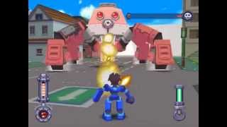 Mega Man 64 - Buster Max on Hard Bosses