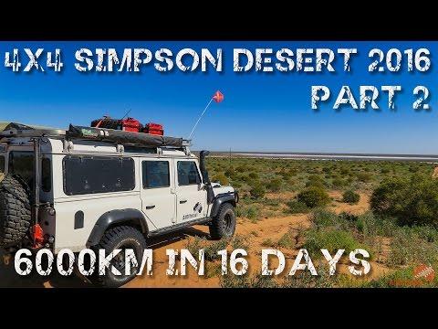 4wd Adventure Simpson Desert & Red Centre 2016 Part 2 | ALLOFFROAD #87-2
