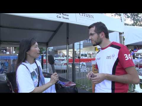 Interview of Istanbul Technical University Solar Car Team during World Solar Challenge 2013