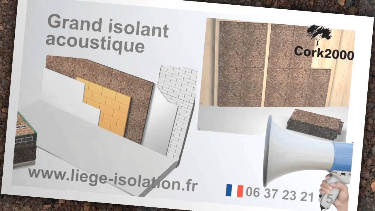 isolation phonique isolation phonique et thermique youtube. Black Bedroom Furniture Sets. Home Design Ideas