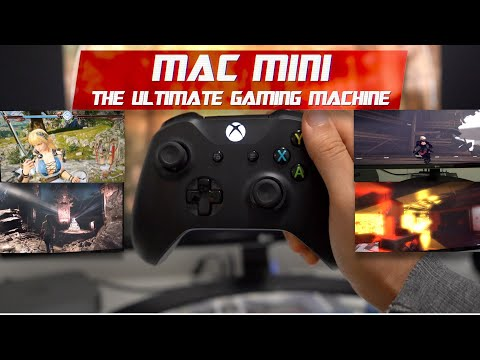 Gaming On The 2018 Mac Mini... Without An EGPU 🤣