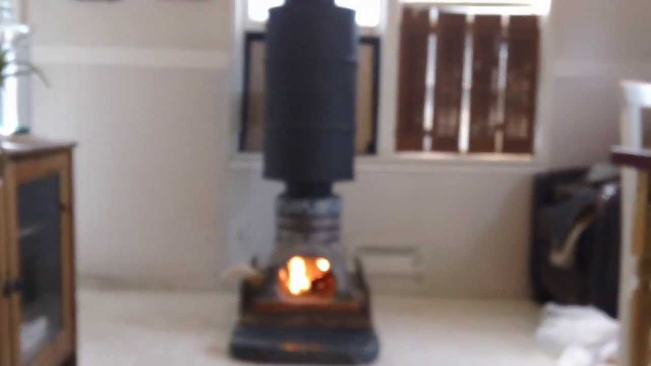 Rocket Stove Decorative Part 2 Youtube