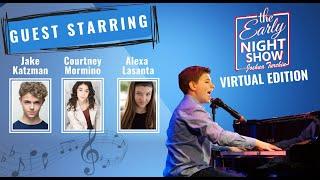 S3 Ep7 Joshua plays w singer-songwriter Jake Katzman, Courtney Mormino, and TikTok w Alexa Lasanta