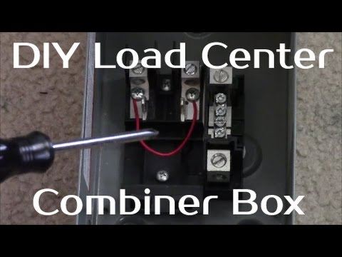Solar Panel Systems for Beginners - Pt 3 How to Build A Load Center
