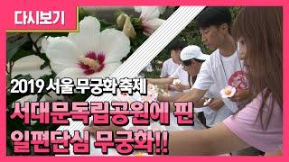 2019 서울 무궁화 축제역사의 외침 꽃의 함성31운동…