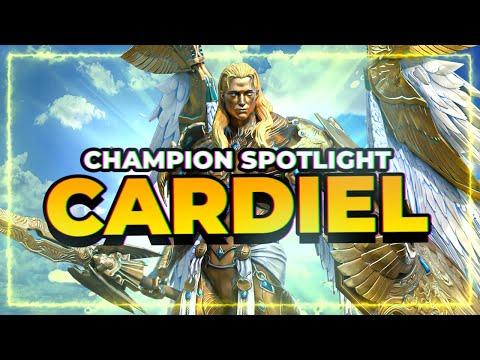 CARDIEL | NEW Void Leggo! | He's AWESOME! | RAID Shadow Legends