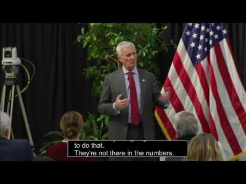 Forum wth President Huddleston and Provost Targett