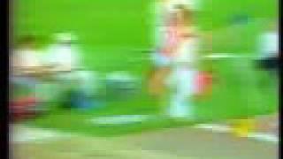 Heike Drechsler, 7.40 (+0.7) Postdam, 21-Ag-1987