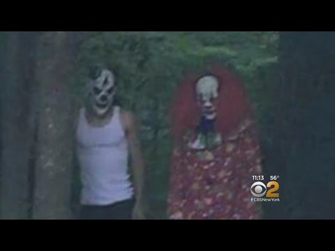 Scary Clowns In Suffolk County